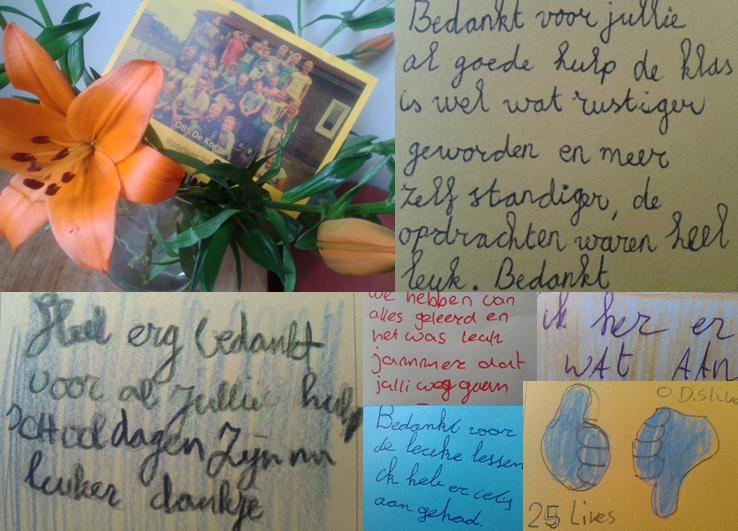 foto collage afscheid de Kogge