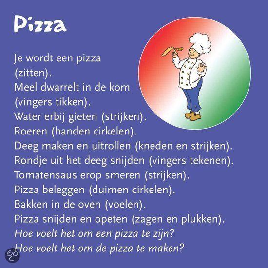 plaatje pizza bakken
